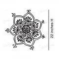 Henna Stencils Decal