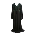 Women's TMS Long Patterned Top Abaya