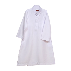 Boys Mini White Thobe
