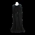 Women's Long Plated Embellished Top Abaya