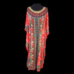 Womens Noorani Long Short Sleeved Kaftan
