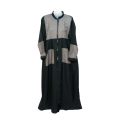 Womens TMS Long Pocketed Abaya