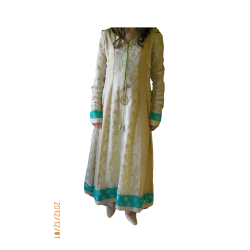 Womens Long Indian Frock Style Dress