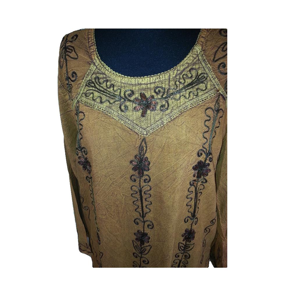 Womens Noorani Fashion Short Indian Embroidered Kurta